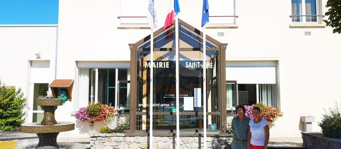 ARES - VOSGES - Commune de Saint-Amé - collectivités - utilisatrice des services d'ARES