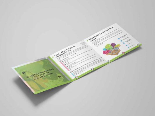 ARES - plaquette professionnels - services aux professionnels - Vosges